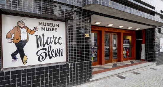 Brussel_Marc_Sleen-museum