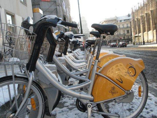 Brussel_Vilo_fietsen