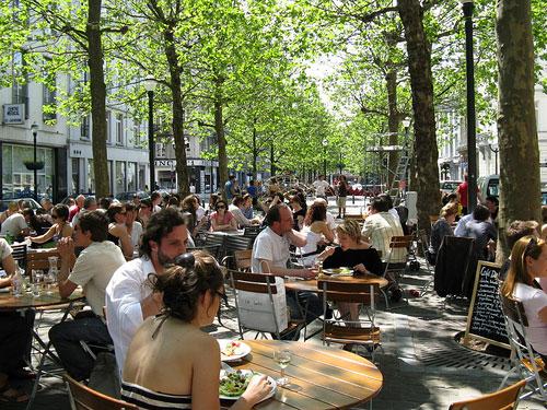 Brussel_terras-cafe-de-markten