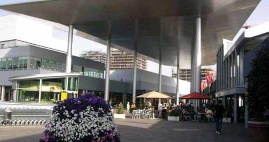 Milaan_piazza-portello-winkelcentrum
