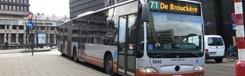 Bus, metro en tram in Brussel