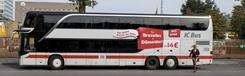 Met de bus naar Brussel