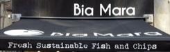 Hedendaagse Fish & Chips bij Bia Mara